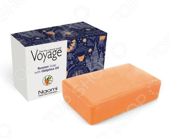 Мыло косметическое Bradex Voyage. Russian Soap With Obliphica Oil