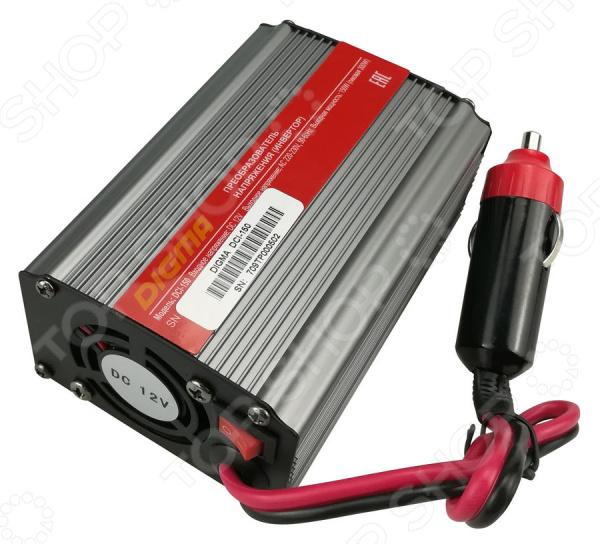 Инвертор автомобильный Digma DCI-150 автомобильный инвертор напряжения digma dci 800 800вт