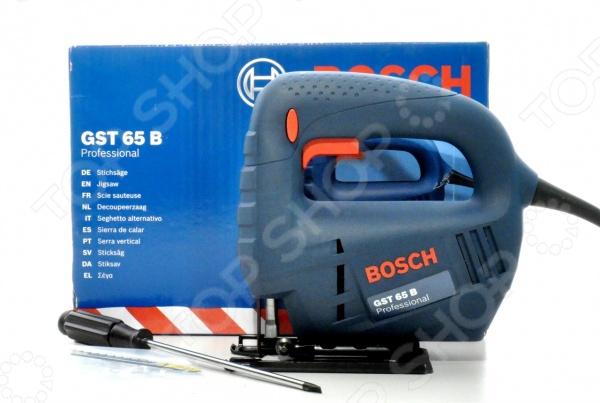 Лобзик электрический Bosch GST 65 B лобзик bosch gst 65 b professional 0601509120