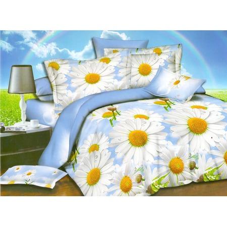 Купить Комплект постельного белья Pandora «Ромашковое поле». 1,5-спальный