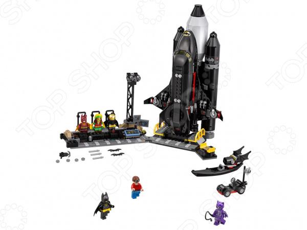 Конструктор для мальчика LEGO The Batman Movie «Космический шаттл Бэтмена» lego batman movie блокнот бэтмен96 листов в линейку