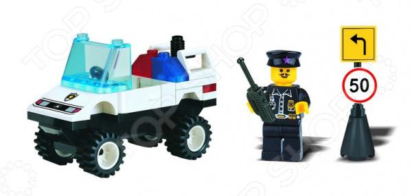 Конструктор игровой Brick «Полицейская машина» 1717086