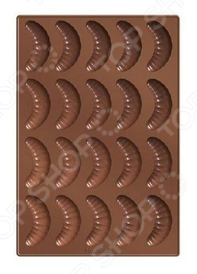 Форма силиконовая для ванильных рогаликов Tescoma Delicia Silicone