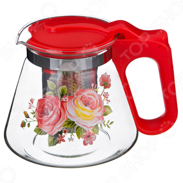 Чайник заварочный Agness «Роза»