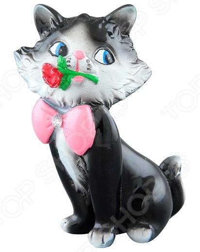 Фигурка декоративная Elan Gallery «Влюбленный котенок Томас» фигурки elan gallery фигурка декоративная влюбленный котенок томас