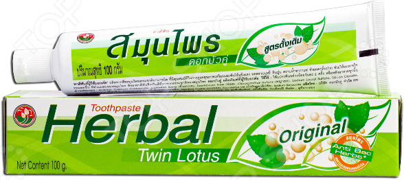 Зубная паста Twin Lotus Herbal Original