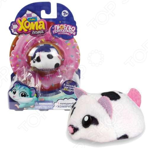 Мягкая игрушка 1 Toy «Хомячок черно-белый»