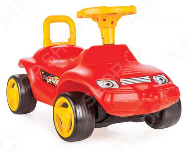 Машина-каталка PILSAN с сигналом Jet pilsan pilsan машинка каталка для ребенка jet c сигналом