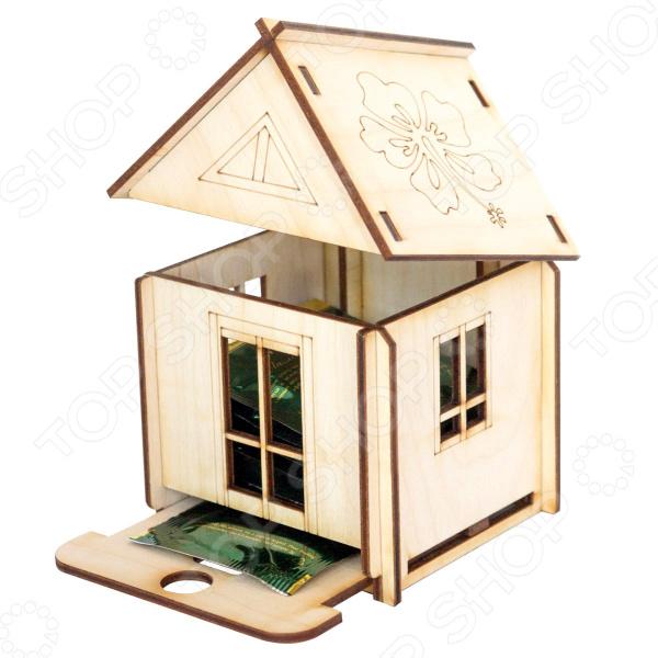 Конструктор деревянный Model.Toys «Чайный дом»