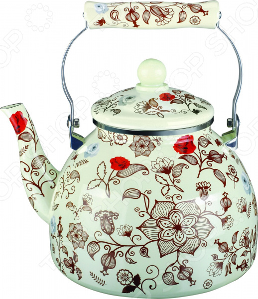 Чайник эмалированный Чудесница ЭЧ-4009 чайник чудесница эч 2004 brown
