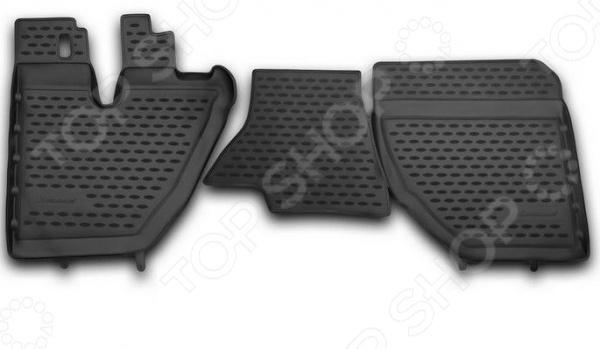 Комплект ковриков в салон автомобиля Novline-Autofamily Daewoo Matiz 2000. Цвет: черный - фото 11