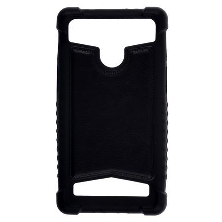 """Бампер универсальный skinBOX для смартфона. Диагональ дисплея: 4.5""""/5"""""""