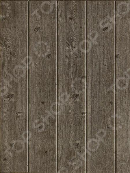 Панель стеновая самоклеящаяся Ricotio «Графит» 3D