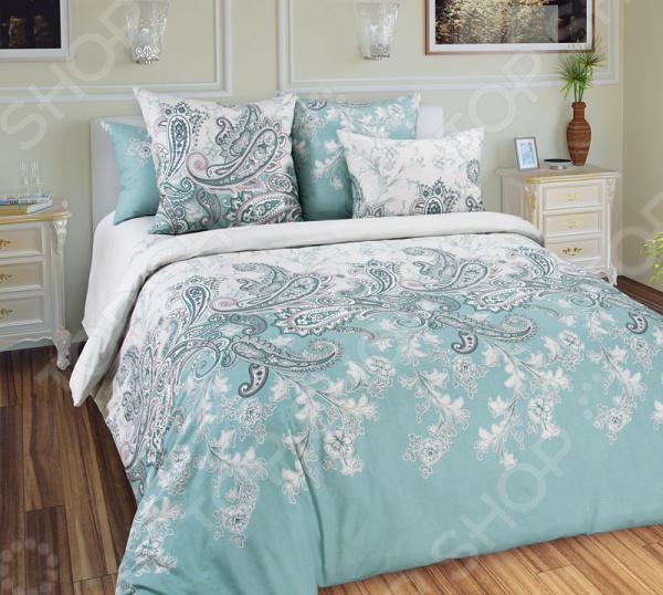 цена Комплект постельного белья Королевское Искушение «Маркиз». Тип ткани: сатин онлайн в 2017 году