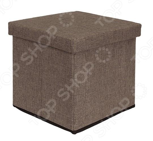 Пуф складной с ящиком для хранения EL Casa
