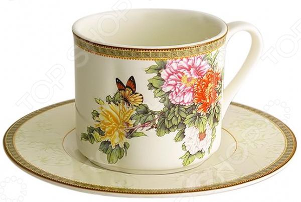 Чайная пара Imari «Японский сад»