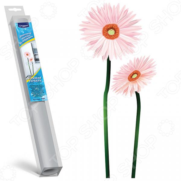 Наклейка декоративная для холодильника Topperr 7001 поглотитель запаха для холодильника topperr 3103