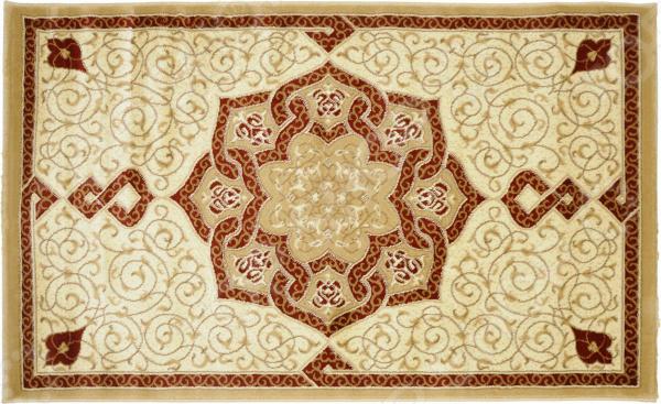 Ковер Kamalak tekstil «Самарканд». Цвет: бежевый, кремовый самарканд квартиру ул гагарина