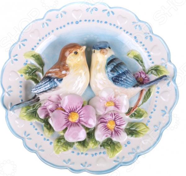 Тарелка декоративная Lefard «Птицы на шиповнике» 59-060 тарелка декоративная lefard 59 565