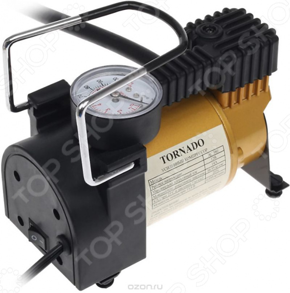 Компрессор автомобильный STVOL AC-580 компрессор для шин 12v 260 psi