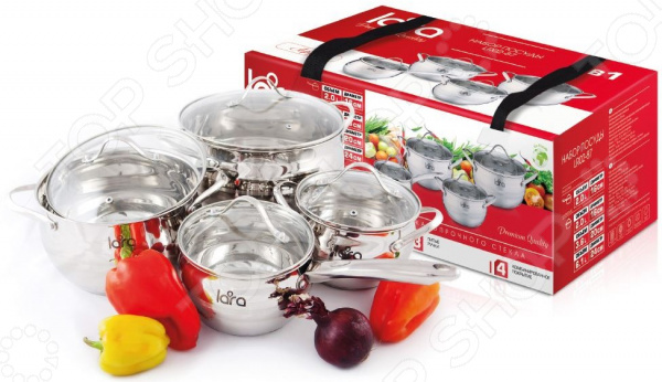 Набор посуды LARA Apple LR02-87 lara apple lr02 33