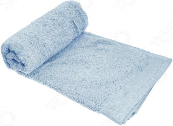 Полотенце махровое Guten Morgen. Цвет: голубой