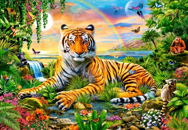 Пазл 1000 элементов Castorland «Король джунглей»