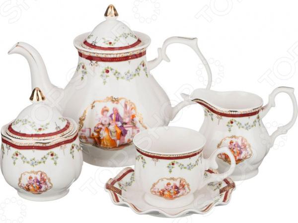 Сервиз чайный Lefard 766-046 сервиз чайный lefard 766 046