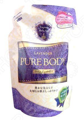 Гель для душа Mitsuei Pure Body с ароматом лаванды очищающий гель для душа с цветочным ароматом vprove vita e sensual body cleanser