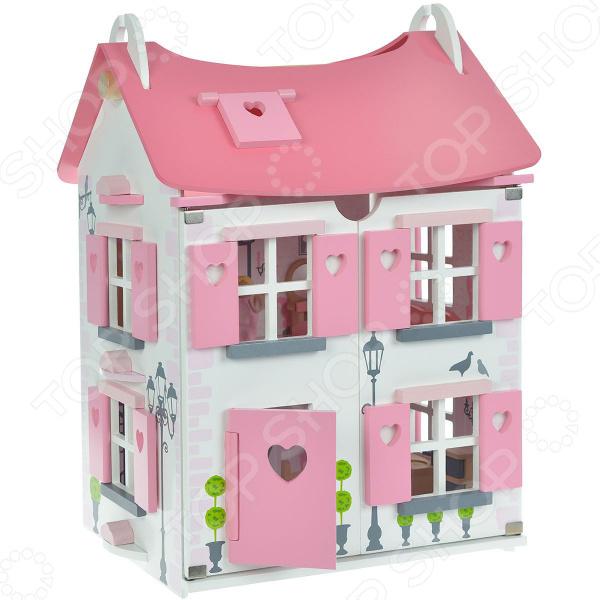Кукольный дом с аксессуарами Janod «Мадмуазель»