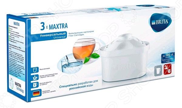 Комплект картриджей к фильтру для воды Brita Maxtra «Универсальный 3» цена