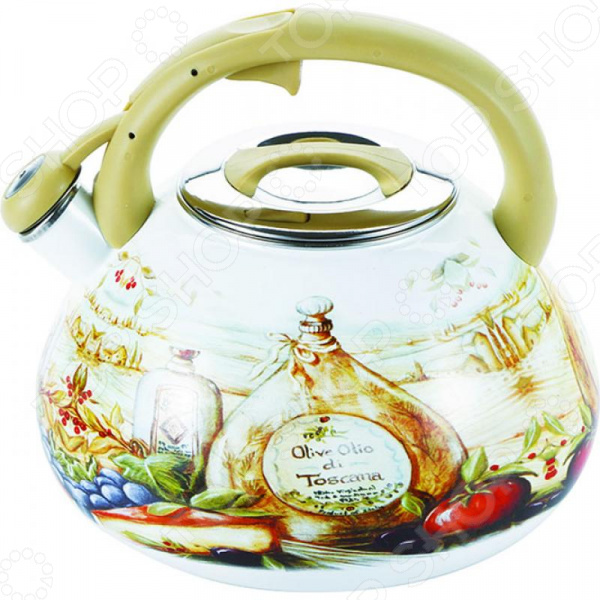 Чайник со свистком Wellberg WB-3445