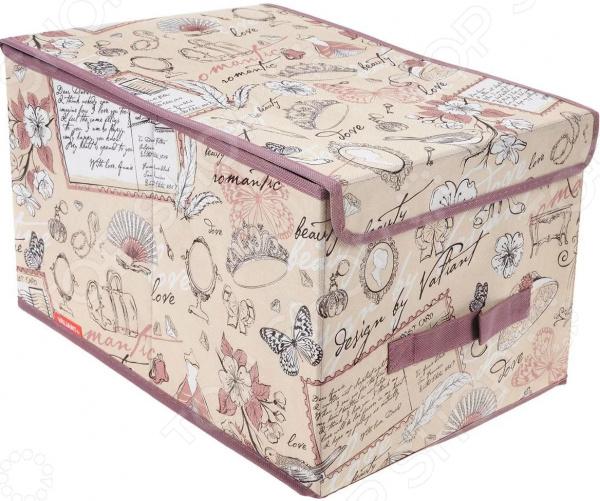 Короб для хранения с крышкой Valiant Romantic