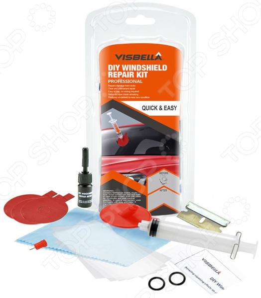 Набор для ремонта лобового стекла Visbella