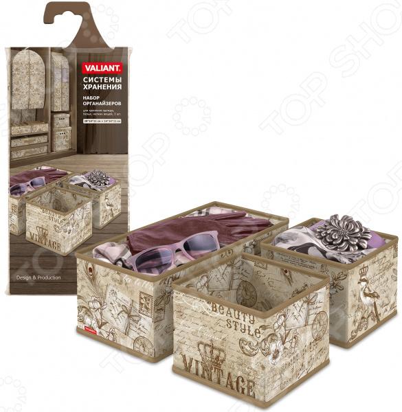 Набор коробок для хранения Valiant Vintage