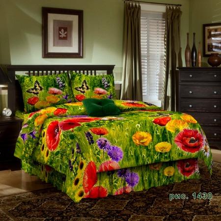 Купить Комплект постельного белья Диана «Краски лета». 1,5-спальный