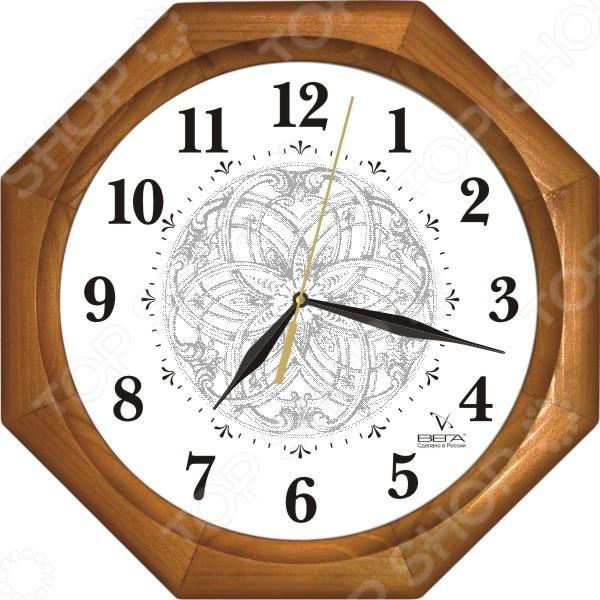 Часы настенные Вега Д 2НД/7-103 «Классика с узором»