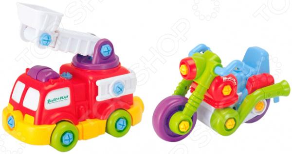 Игровой набор Keenway Подъемник и мотоцикл keenway keenway игровой набор дом моей мечты