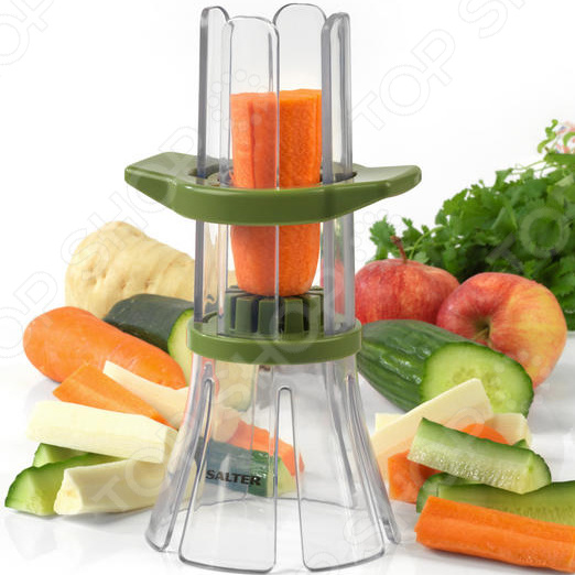 Овощерезка Salter Fruit And Vegetable Slicer BW05838 rotary fruit peeler multifunctional apple potato peeler rotary vegetable fruit cutter for kitchen tool