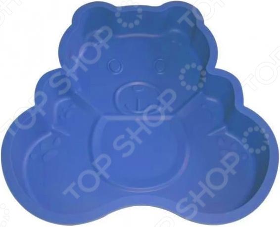 Форма для выпечки силиконовая Bekker «Медвежонок»