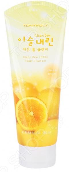 Пенка для умывания TONY MOLY Clean Dew «Лимон» perfectly clean универсальное средство для умывания