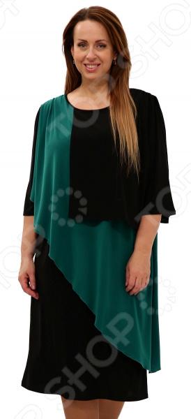 Платье Pretty Woman «Танго двух сердец». Цвет: зеленый