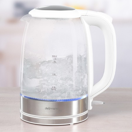 Купить Электрический чайник из термостойкого стекла Delimano «Джой»