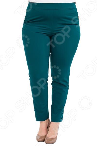 Брюки Blagof «Габриэлла». Цвет: зеленый брюки blagof брюки зауженные