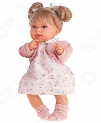 Кукла интерактивная Munecas Antonio Juan «Лорена блондинка» карапуз интерактивная кукла аленка блондинка цвет наряда розовый белый