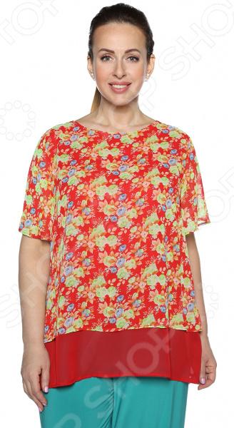 Блуза Blagof Блуза «Бабочка». Цвет: красный