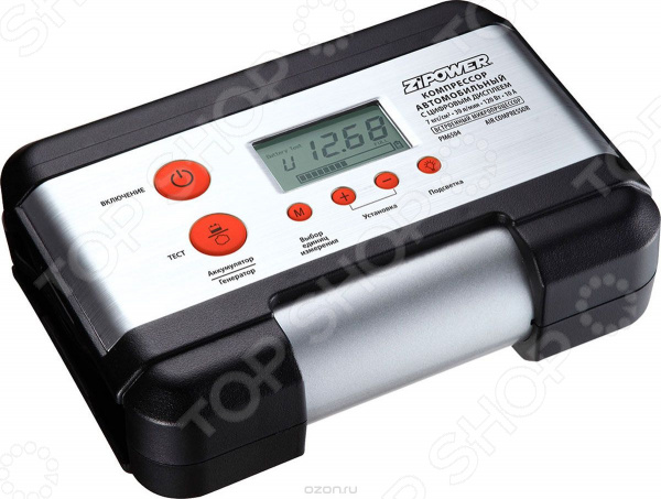 Компрессор автомобильный Zipower PM 6504 автомобильный компрессор zipower pm 6506 35л мин