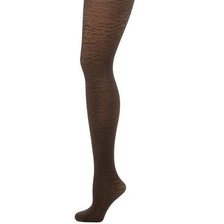 Купить Колготки фантазийные Burlesco X4. Цвет: коричневый