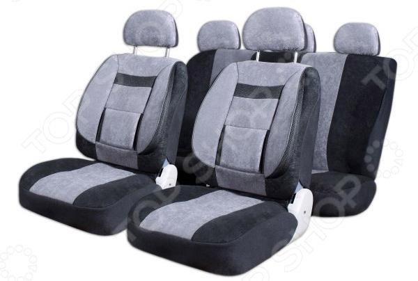 Набор чехлов для сидений SKYWAY Protect 2 S01301138 чехол на сиденье skyway chevrolet cobalt седан ch2 2