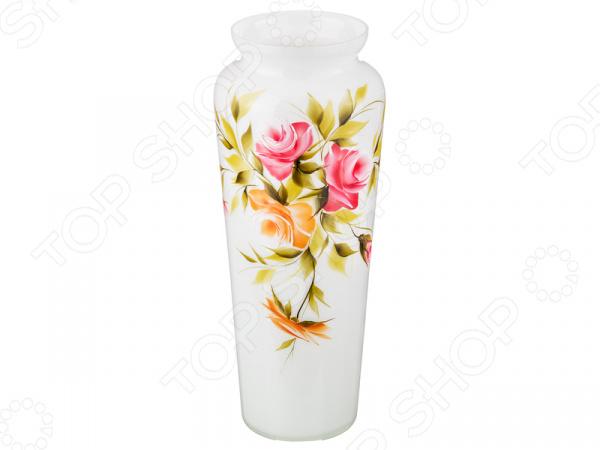 Ваза декоративная «Роза опал» 354-1081